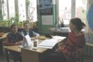 Lekcja przyrody w klasie 6B prowadzi Katarzyna Pusdrowska 6B