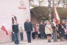 Przewodniczący Samorządu Szkolnego Jacek Tomasiak rozpoczął apel