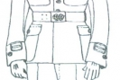 Kadecki letni mundur galowy