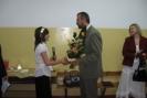 Kwiaty dla Burmistrza za życzliwość wobec naszej szkoły